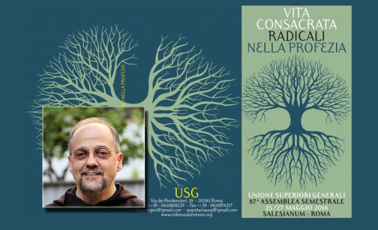 Conférence du P. Saverio à la USG