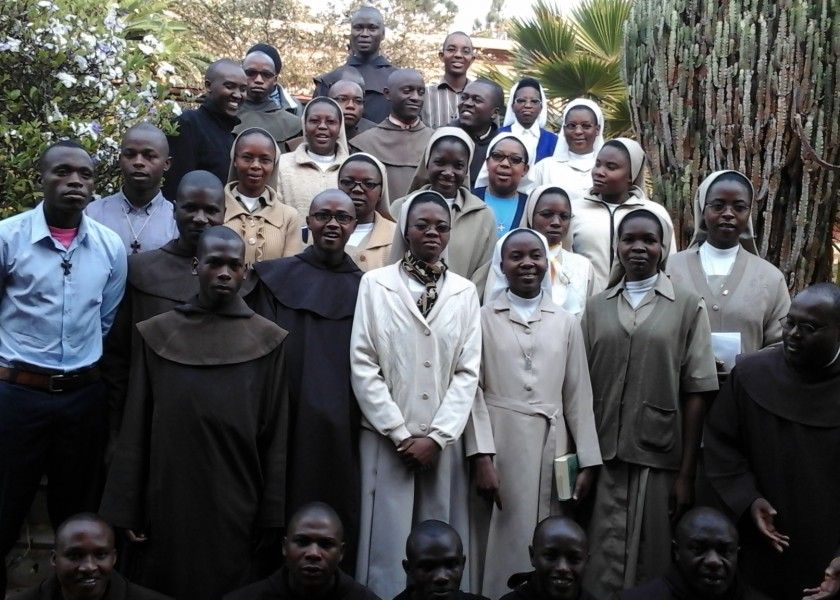 "Yearly retreat in the ""Mater Carmeli"" Spirituality Center of Butare"