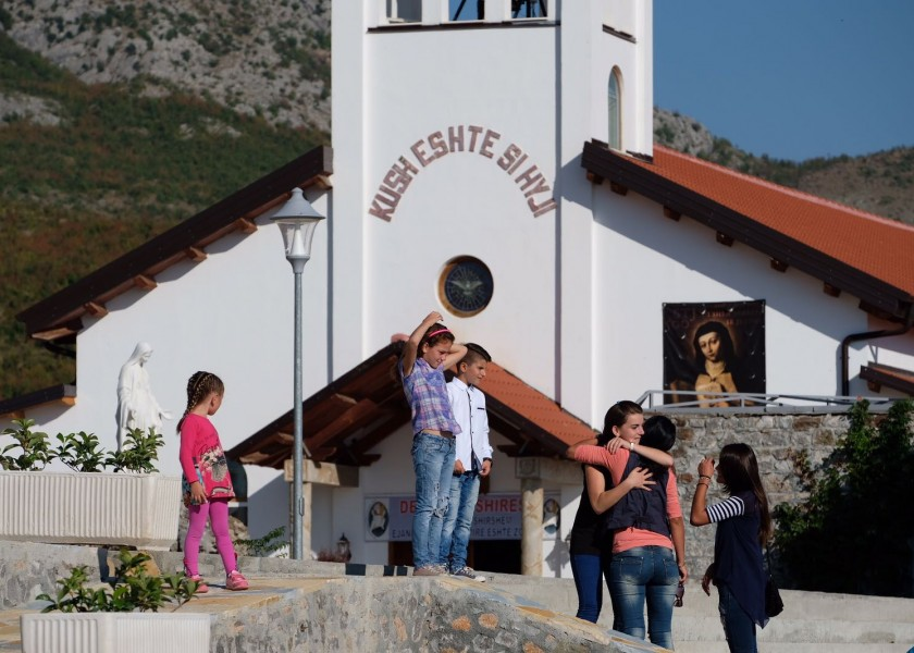 Opening and inauguration of the Saint Joseph monastery and spirituality centre in Nënshat, Albania