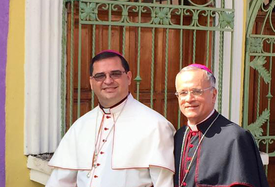 Consagração episcopal de Mons. Oswaldo Escobar