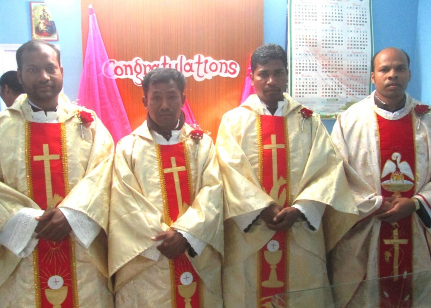 First Priestly Ordinations from North East India for the Regional Vicariate of West Bengal