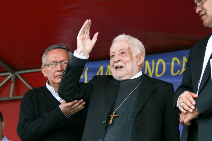 Good bye to Mons. Luna, a Discalced Carmelite and an Ecuadorian Bishop