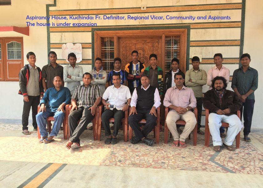 25 anos de presença na missão de Odisha