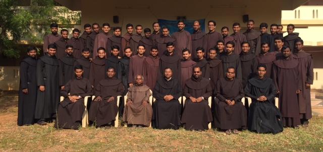 Reunião dos estudantes de Teologia das Províncias da Índia