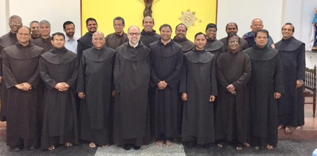 Treffen der Karmeliten unseres Ordens in Indien