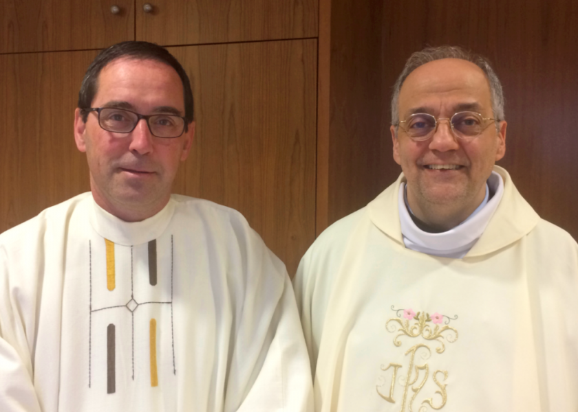 Fr Saverio Cannistrà, Superior General, is visiting the Iberian Province