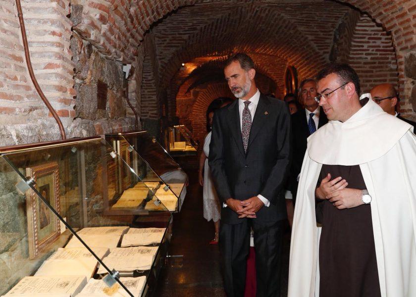 El Rey Felipe VI respalda el Año Jubilar Teresiano con su visita a Ávila