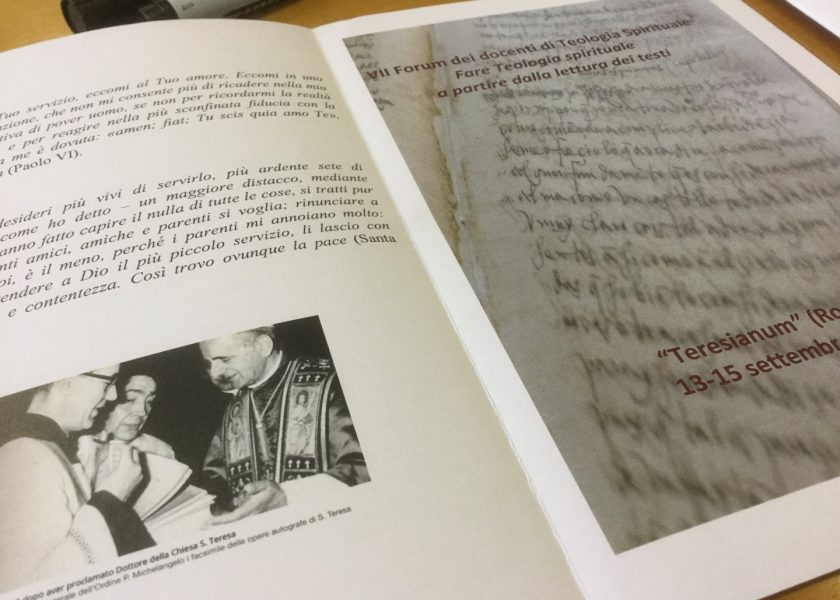 Fórum de Teologia Espiritual no Teresianum