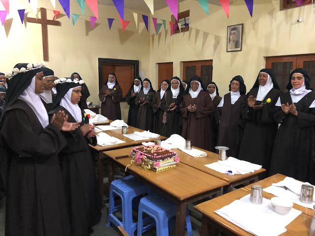 Aniversario del Monasterio de Soso (India)