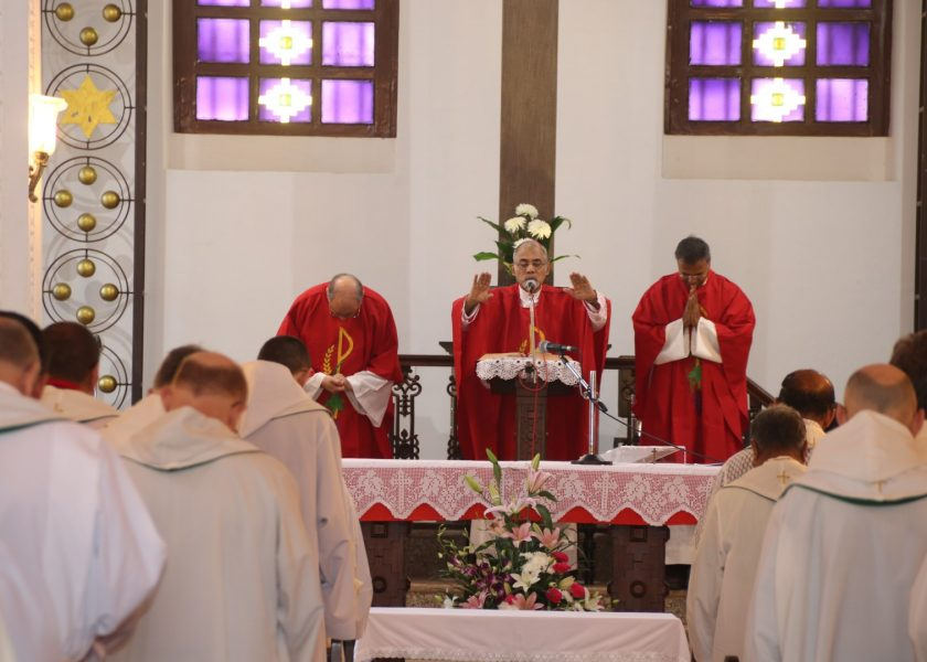 Definitório Extraordinário dos Carmelitas Descalços Terça-feira, 5 de fevereiro de 2019
