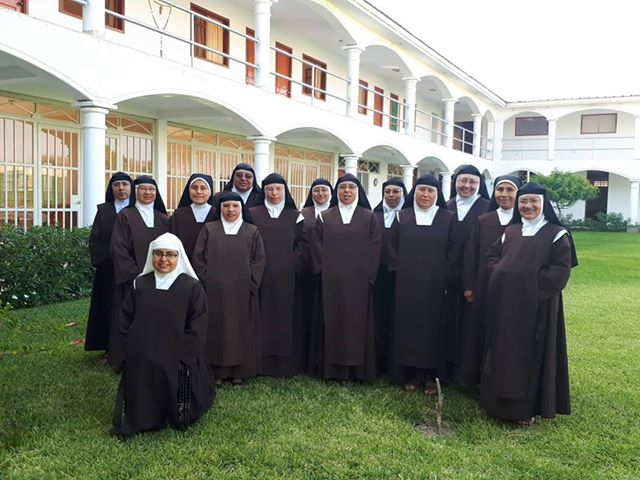 Course for the nuns in Peru
