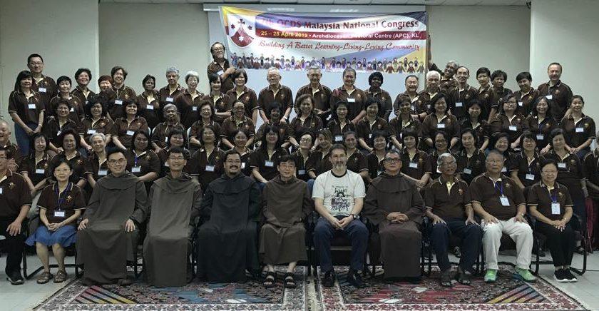 Encontros nacionais da OCDS na Malásia e nas Filipinas
