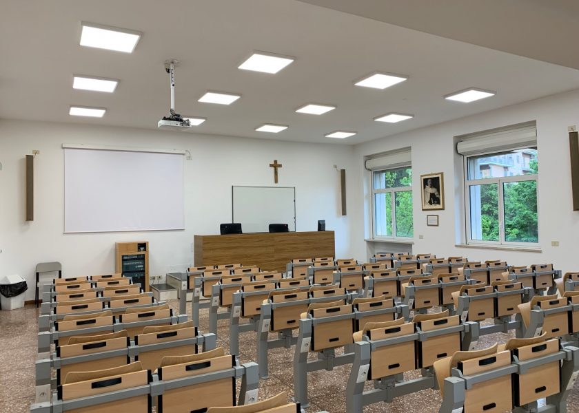 "Improvements to the ""Father Silverius"" classroom of the Teresianum"