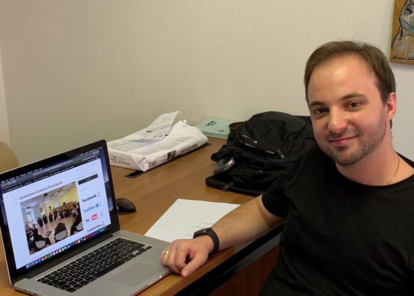 Novo Webmaster: Lorenzo Barone