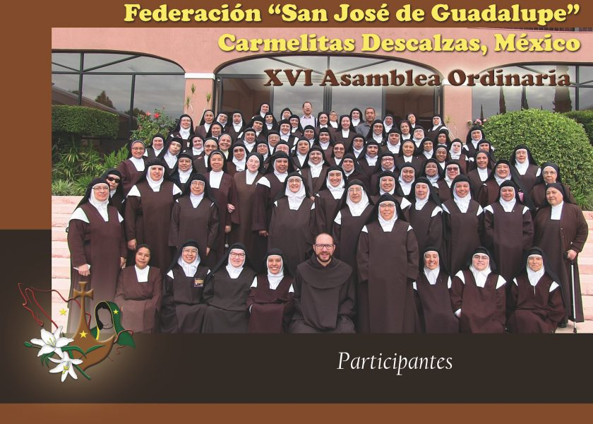 "XVI Federal Ordinary Assembly ""Carmelites of Mexico"""