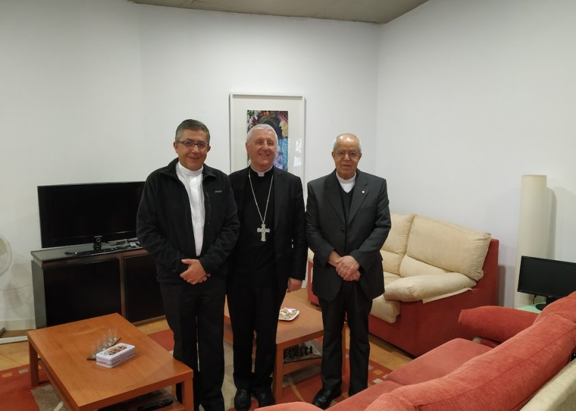 Visit to CITES – University of Mysticism, by the Prefect of the Congregation for Catholic Education.