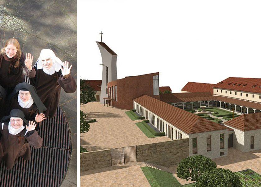 Traslado de las monjas de Praga