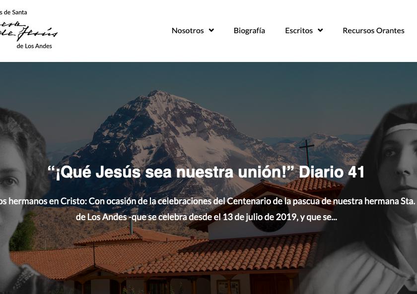 Escritos de Santa Teresa dos Andes
