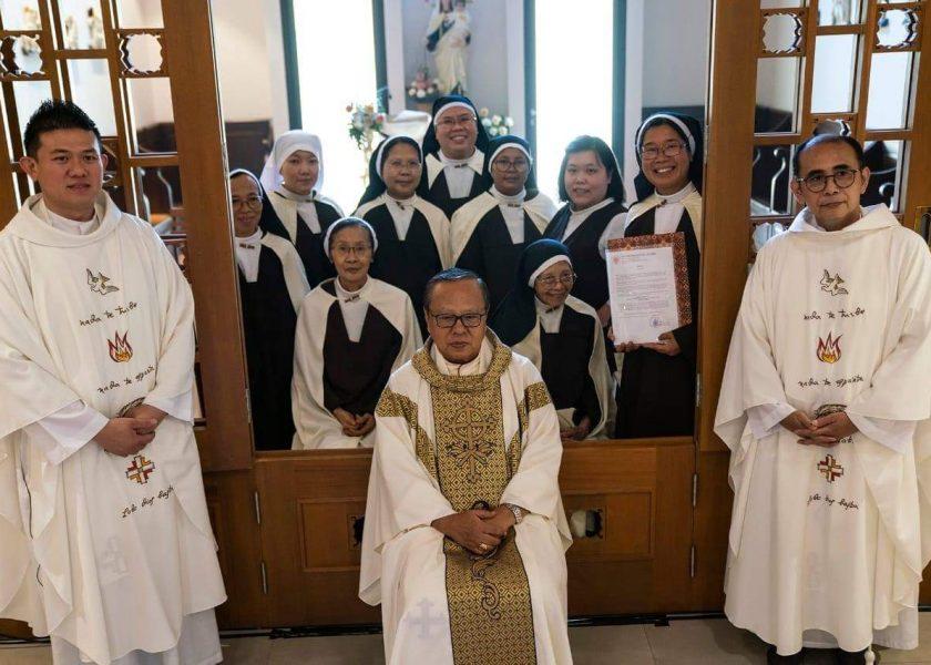 Um novo mosteiro de carmelitas descalças em Jakarta