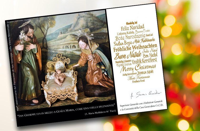 Auguri di Natale dalla Casa Generalizia