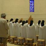 Interreligious meeting in Mazille Carmel (France)